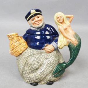 Royal Doulton Old Salt Sailor Mermaid Toby Jug Character Mug