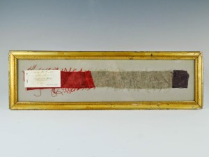 Antique Spanish American Military Flag Relic