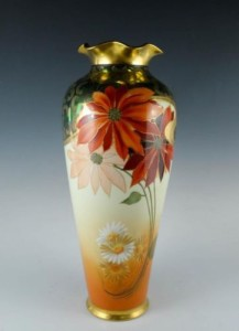 Hand Painted Pickard China Vase