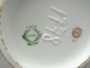 Pickard China Co Porcelain Hallmark
