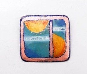 Art Deco Nelly Natzler Brooch