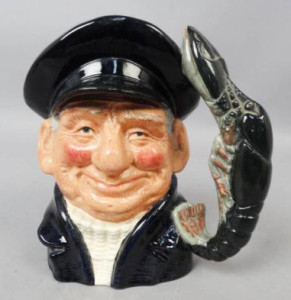 Royal Doulton Sailor Lobster Man Toby Jug Character Mug